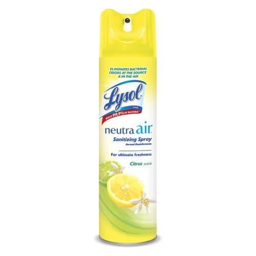 Reckitt Benckiser LYSOL NEUTRA AIR Citrus Scent Sanitizing Spray 10 oz.