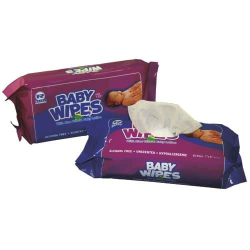 Royal Paper Aloe Infused Hypoallergenic Unscented Baby Wipes Refill