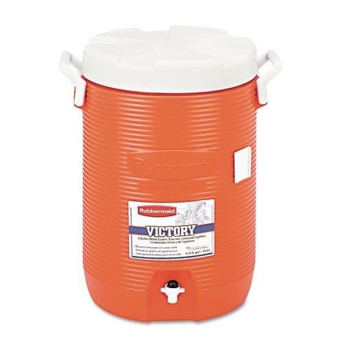 Rubbermaid Orange Insulated 5 Gal Beverage Dispenser