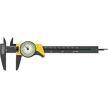"General Tools 0-6"" Reinforced Plastic Standard Dial Caliper"