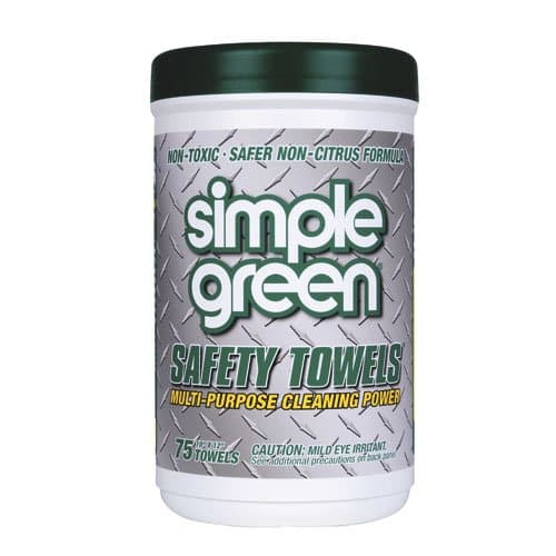 Simple Green Crystal Green Safety Towels 10X12