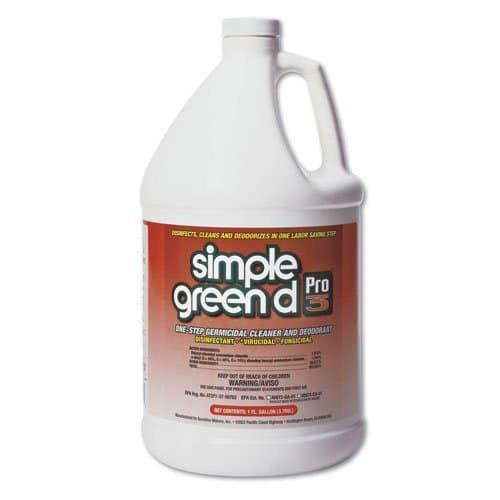 Simple Green Pro 3 One-Step Germicidal Cleaner & Deodorant 1 Gal