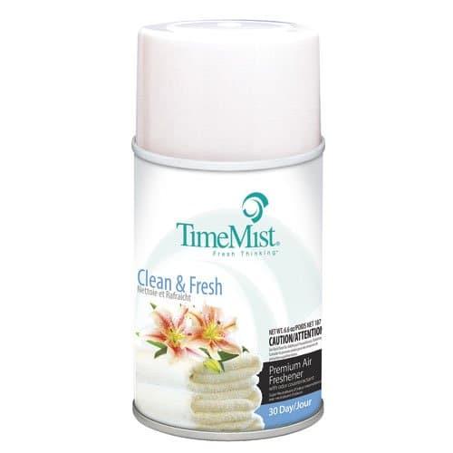 Timemist Clean N Fresh Scent Premium Metered Air Freshener Refills 6.6 oz.