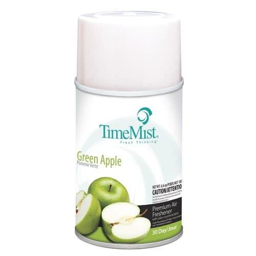 Timemist Green Apple Scent Premium Metered Air Freshener Refills 5.3 oz.