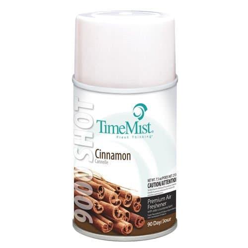 Cinnamon Scent 9000 Shot Metered Air Freshener Refills 7.5 oz.