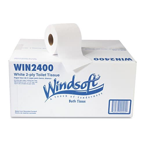 Recycled 2-Ply Toilet Tissue
