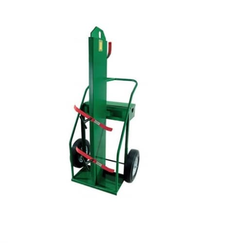 Anthony Welded Firewall Hand Truck, Dual Cylinder, 800 lb Load Capacity, 16-in Wheel