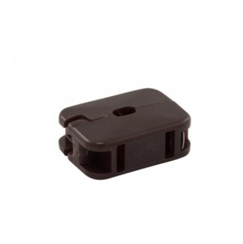 Eaton Wiring 10 Amp In-Line Outlet, NEMA 1-15R, Brown