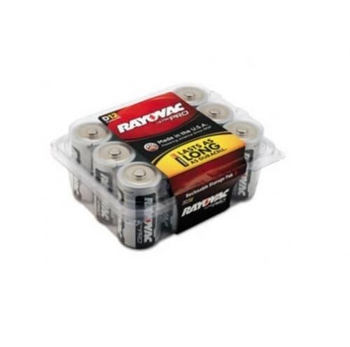 Ray-O-Vac 1.5V Ultra Pro Alkaline Batteries, Size D