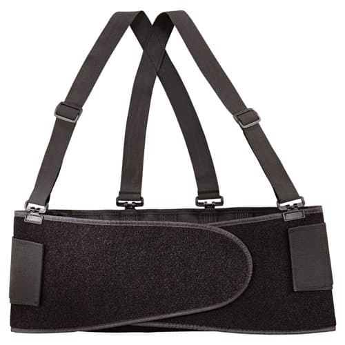 Allegro Economy Bodybelt w/ Velcro, Medium, Black