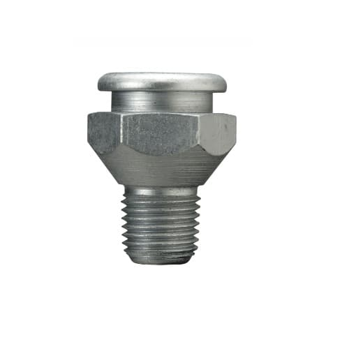 1.25-in Button Head Fitting, Straight, Male Connection
