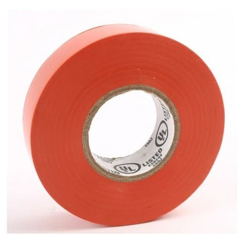 Ammo Orange PVC Electrical Insulating Tape- 60 Feet