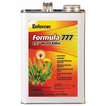 Amrep Misty Enforcer Formula 777 E.C. Weed Killer, Non-Cropland, 1 gal Can, 4/Carton