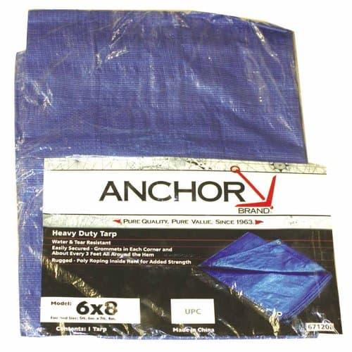 Anchor Blue 20'x12' Multi-use Polyethylene Tarp