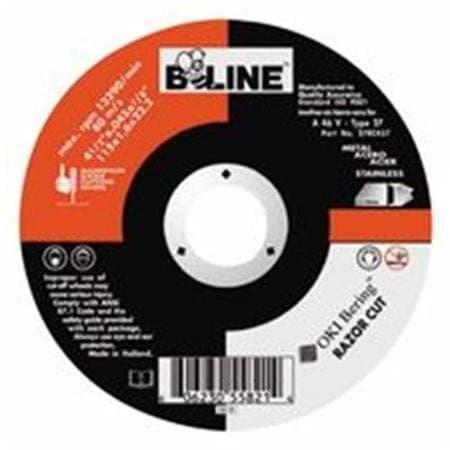 """Bee Line Abrasives 4.5"""" Backing Pad, Size Medium"""