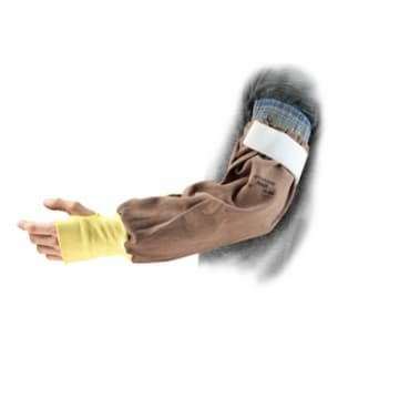 Ansell 22-in ActivArmr® Welding Sleeve, Brown