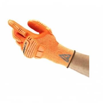 Ansell ActivArmr® Impact Resistant Glove, Size 10, Orange