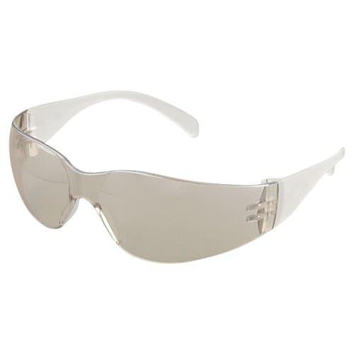 AO Safety Clear Temples Indoor/Outdoor Mirror Lens Virtua Eyewear