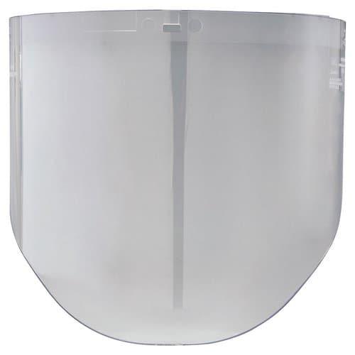 "AO Safety 9""X14-1/2""X0.060 Clear Polycarbonate Window"