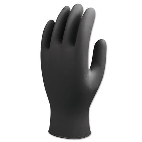 Best Glove N-Dex Nighthawk Gloves, Nitrile, X-Large, Black