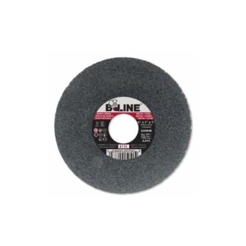 Bee Line Abrasives 6-in Straight Grinding Wheel, 36 Grit, Aluminum Oxide, Resin Bond