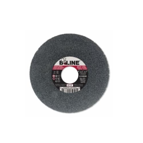 Bee Line Abrasives 6-in Straight Grinding Wheel, 120 Grit, Aluminum Oxide, Resin Bond