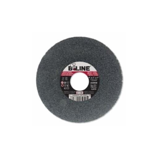 Bee Line Abrasives 6-in Straight Grinding Wheel, 60 Grit, Aluminum Oxide, Resin Bond