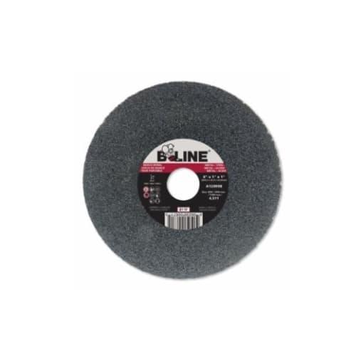 Bee Line Abrasives 8-in Straight Grinding Wheel, 36 Grit, Aluminum Oxide, Resin Bond