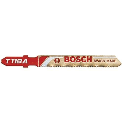 """Bosch 3"""" 24 Teeth High Carbon Steel Jigsaw Blade"""