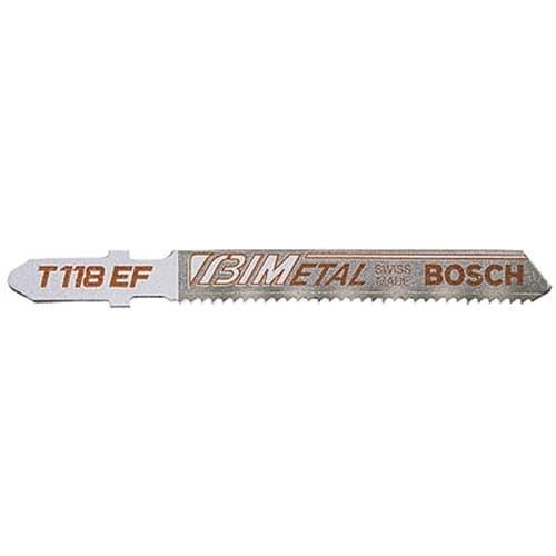 """Bosch 3"""" 18 Teeth Heavy Duty Bi-Metal Jigsaw Blade"""
