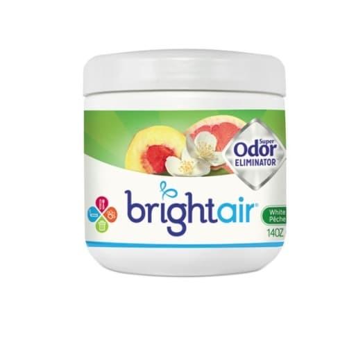 Bright Air 14 Oz Jar White Peach & Citrus Super Odor Eliminator