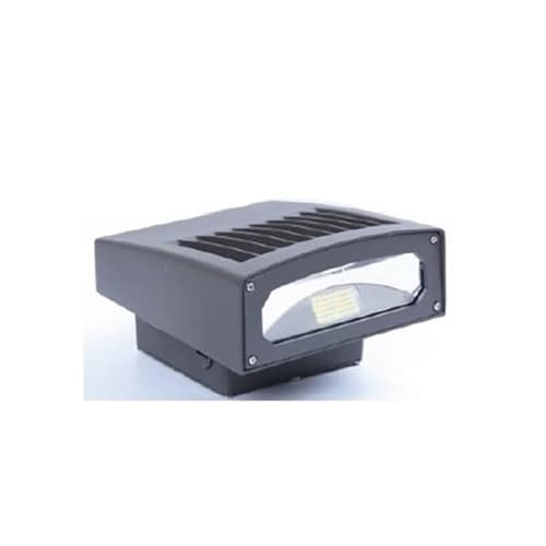 NovaLux 75W LED Slim Wall Pack - Full Cut Off, 250W MH Replacement, 7600 Lumens