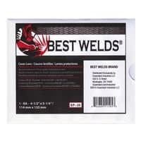 Best Welds Best Welds Comfort Eye Protection Cover Lens, 4.5 X 5.25, 70and#37; CR-39 Plastic