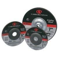 Carborundum Metal Aluminum Oxide Wheels, Depressed Center Wheel