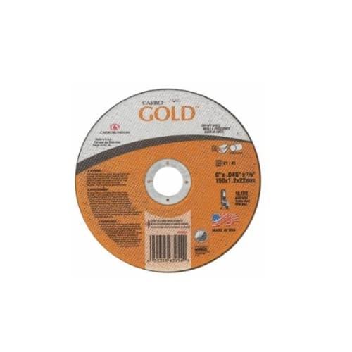 "Carborundum 6"" GoldCut Reinforced Aluminum Oxide Abrasive"