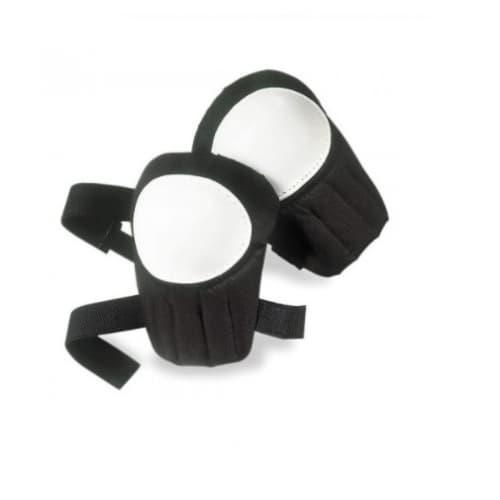 Swivel Knee Pads w/ Plastic Cap, Black