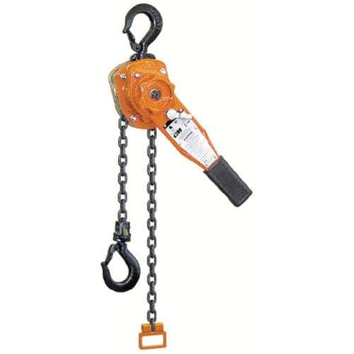 Columbus McKinnon Lever Chain Steel Hoist with Hook Ends