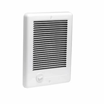 Cadet Heater Com-Pak Wall Heater, Grill Only, White