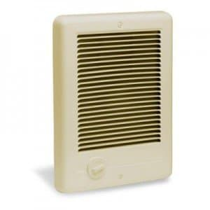 Com-Pak Series Wall Heater Grill Only, Almond