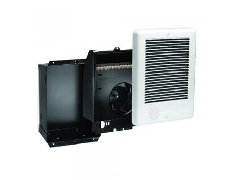 Com-Pak Series Wall Heater Complete Unit, 1500 Watts at 240V, White