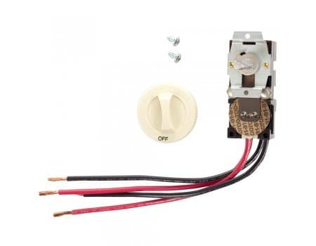 Cadet Almond, Built-In Double Pole Thermostat for Com-Pak Wall Heater, 22A