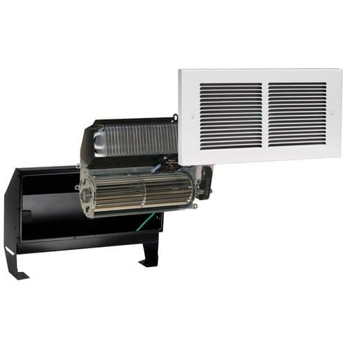 Register Wall Heater, Complete Unit, 2000 Watts at 240V, Almond