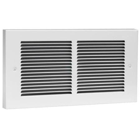 Register Wall Heater Horizontal Grill Only, White
