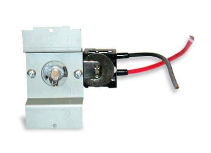 Perfectoe Kickspace Heater Thermostat Kit, Single Pole 25 Amp Black
