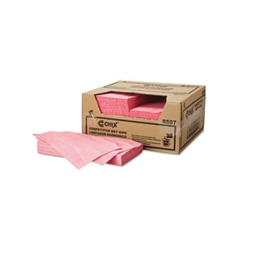 Chicopee Chix Pink Diamond Pattern Reusable Wet Wipes 13.5X24
