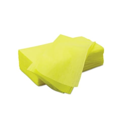 Chicopee Masslinn Yellow Light-Duty Dust Cloths w/ Microban 22X24