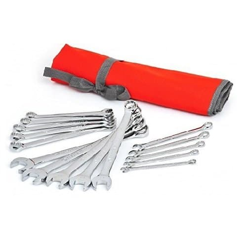15 Piece Wrench Set Roll
