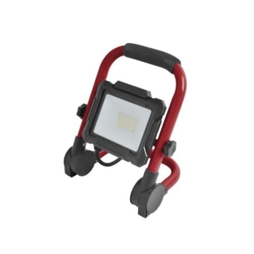 20W LED Flood Light w/ 5' Cord, 2000 lm, 5000K