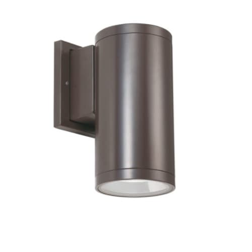 CyberTech 12W LED Wall Sconce, 1100 lm, CCT Selectable, Bronze