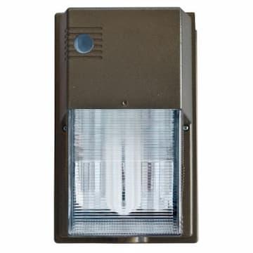 11W LED Wall Pack, Tubular G24, 2-Pin, 120V-277V